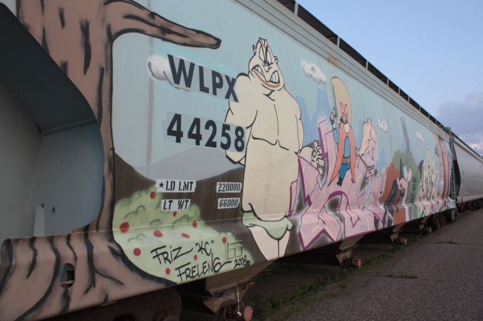 WB train car 3