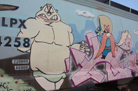 WB train car 4