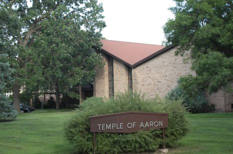 The Temple of Aaron Synagogue.