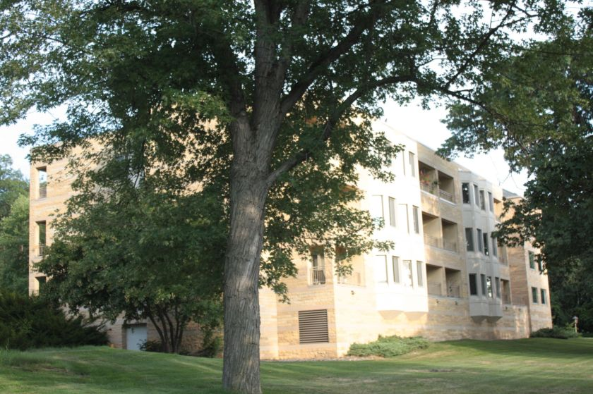 While not a single-family home, the Leo C. Byrne Residence on the University of St. Thomas campus houses retired priests from Saint Paul-Minneapolis diocese.