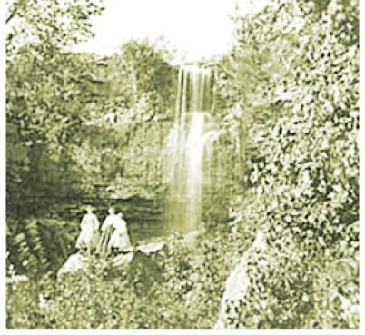 Shadow Falls visitors circa 1875. Courtesy of Minnesota Historical Society.