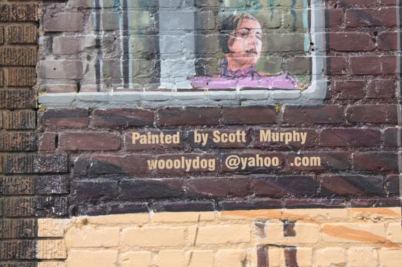 I found Scott Murphy's email address on the mural and contacted him to set up an interview. Since Scott lives in Proctor, MN, we talked on the phone rather than face to face.