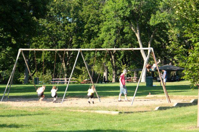 Things were swinging at Cherokee Regional Park.