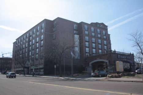 The Embassy Suites Hotel, 175 East 10th Street, has witnessed many of Downtown's ups and downs since opening about 30 years ago.