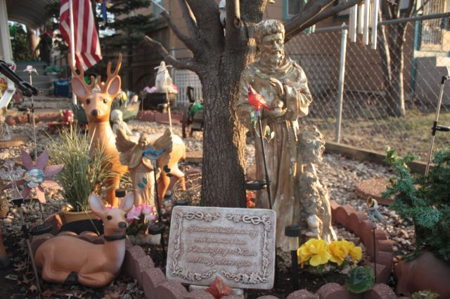 Darlene's memorial to her three children.