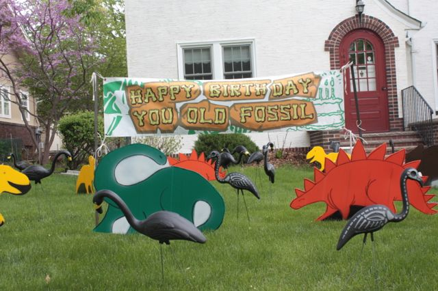 How would it feel to get up on your birthday and see this on your lawn?