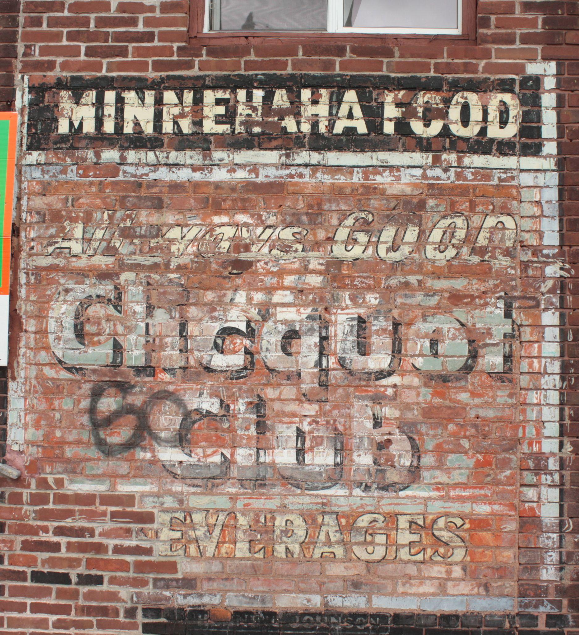 Vintage Wall Sign, Valier,Montana | Bricks, Walls and Montana