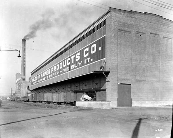 Waldorf Paper Products Company, circa 1928. Courtesy Minnesota Historical Society