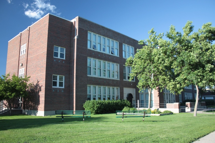 Linwood Park Elementary still dons most of its original trappings.