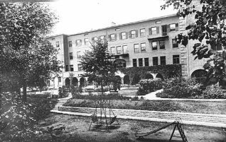 The address was different but from the 1910s until 1966 this property was the site of Convent of the Visitation School, which is now in Mendota Heights.