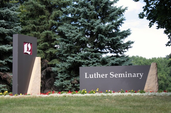 Saint Paul's Luther Seminary is one of eight seminaries of the Evangelical Lutheran Church in America (ELCA). The Seminary is nestled in a quiet part of the Como Park neighborhood intermingled with homes and small businesses.