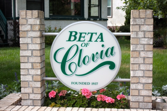 Beta of Clovia at the corner of Cleveland and Carter, is an ag sorority created on the foundations of 4-H and an emphasis on academics and activities.