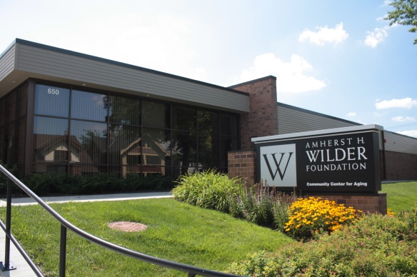 Wilder's Community Center for Aging was expanded and renovated in 2011 at 650. providing low-income adults and adults with disabilities living in the east metro with programs and services that allow them to live independent and healthy lives.