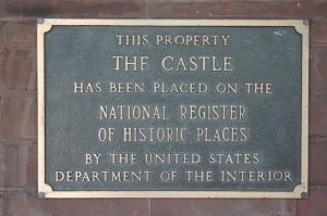 castle plaque