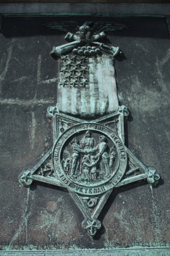 The Civil War Memorial cost $9,000 to erect in 1903.