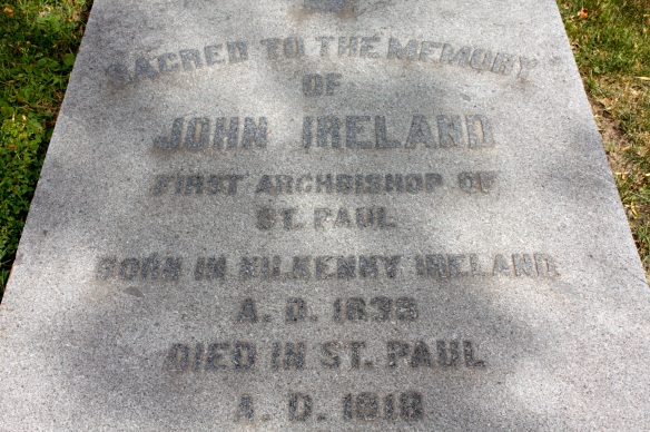 ...Saint Paul's first Archbishop, John Ireland...