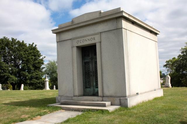 The family mausoleum of John O'Connor, former Saint Paul police chief.