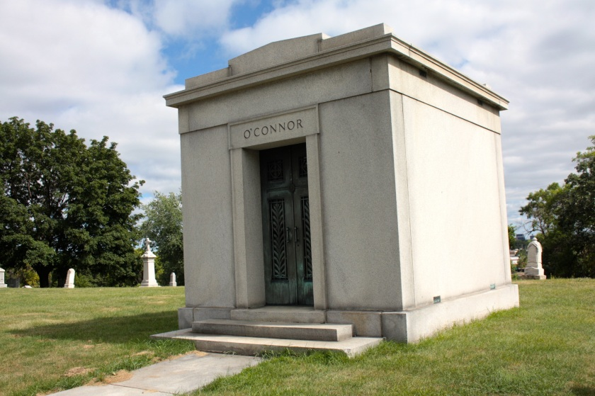 The family mausoleum of John O'Connor, former Saint Paul police chief.