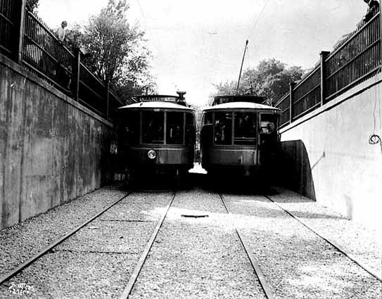 Selby streetcar tunnel 1