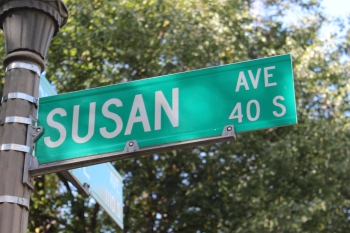 Susan Avenue is one of Len Bisanz's daughters.