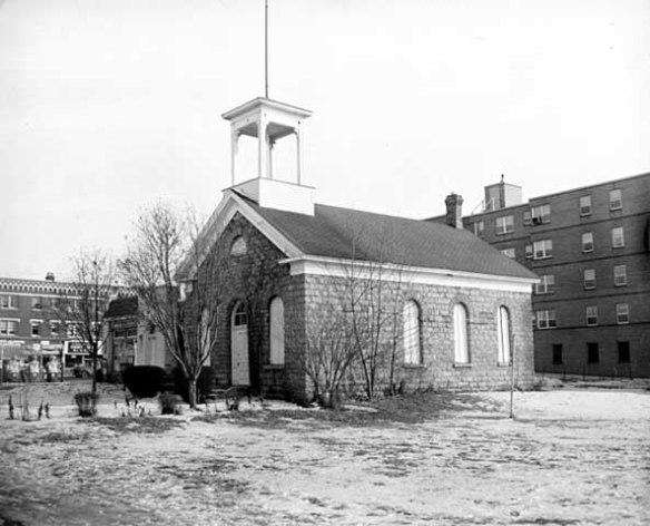 The Mattocks School at 1580 Randolph in 1960. Photo courtesy MnHS.