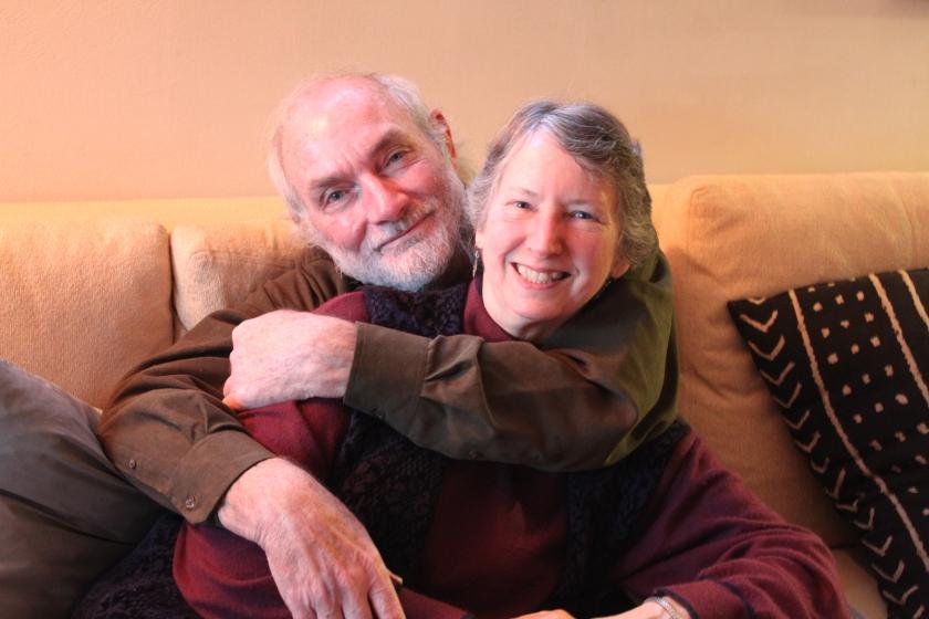 Don Empson, left, and Kathy Vadnais