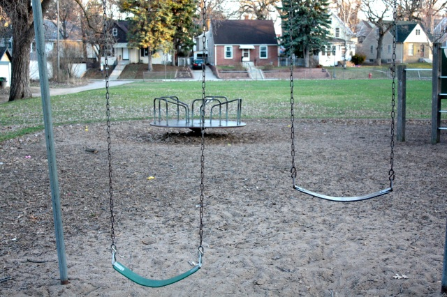 This forlorn little park has old merry-go-round and swings and a small climbing area. On the positive side, there is plentiful open space for children to run around. Although it sports no signage, Clayland Park is bordered by Hewitt Avenue and Hewitt Place, Fairview Avenue and Clayland Street.