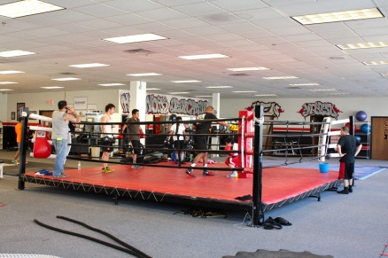 The boxing ring at Element.