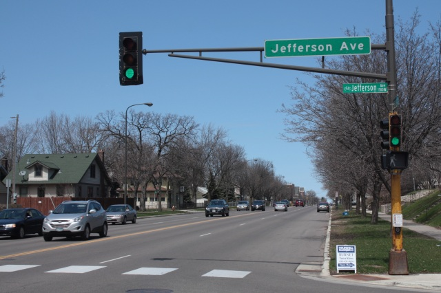 The intersection of Snelling and Jefferson Avenues.