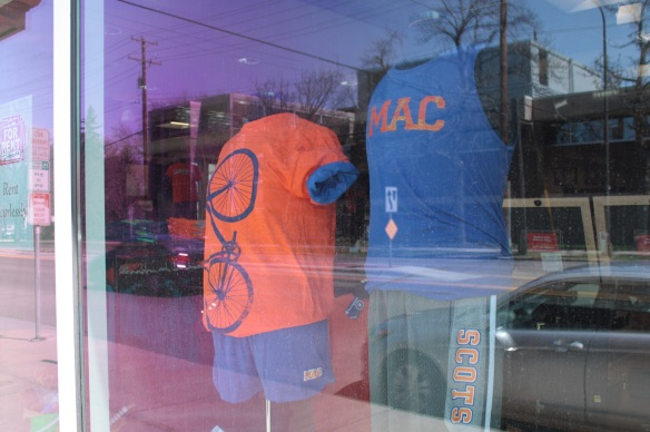 And the Macalester Bookstore, Highlander, is next door at 32 South Snelling.