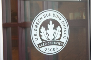 Spruce Tree Center is Green too.