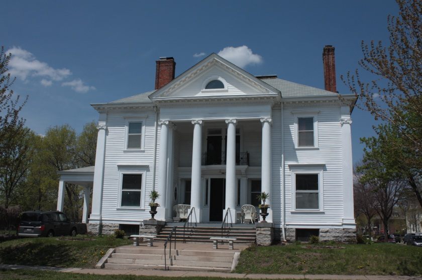 The Thomas and Susan Welch House.