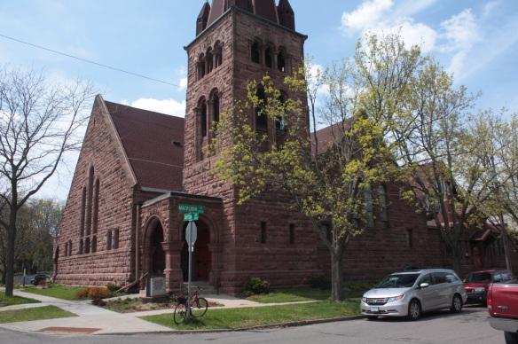 Dayton Presbyterian Church at 217 Mackubin at Dayton.
