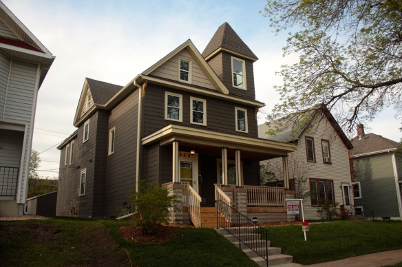 869 Fuller in Summit-University after restoration.