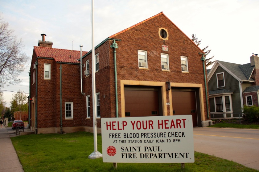 """Fire Station 5, designed by Clarence """"Cap"""" Wigington, opened in 1930 at the corner of Ashland and Victoria."""
