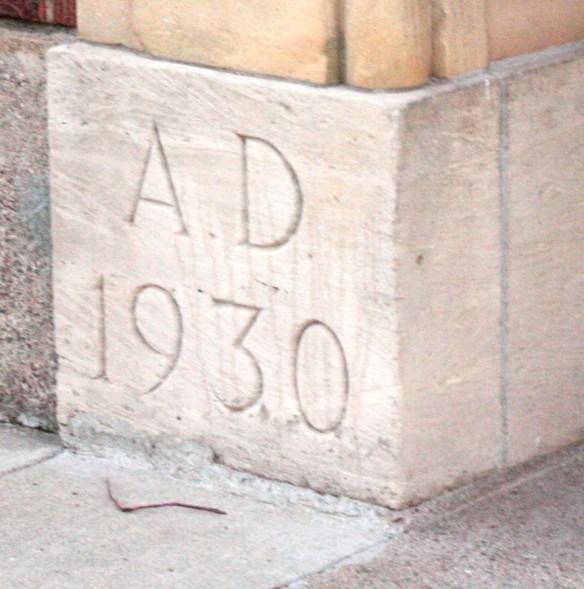 The cornerstone of Station 5.