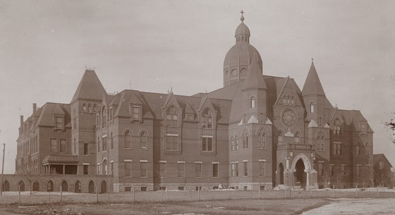 The foreboding House of the Good Shepherd home for girls. Courtesy Minnesota Historical Society
