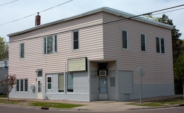 This plain building is home to Nehemiah's Walls Baptist Church. It is one of several houses of worship I passed on the ride.