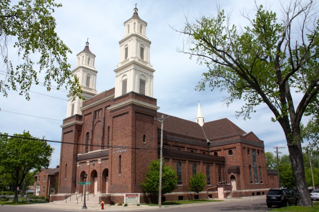 The unusual design of the Church of St. Adalbert is marvelous. Originally a Polish Catholic church when it opened in 1910, it now primarily serves Vietnamese Catholic parishioners.