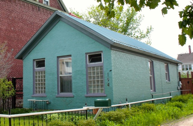 194 Charles, built in 1888, is small, simple and well built.