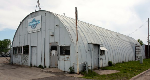 Quonset Huts were designed in 1941 by some engineers at Quonset Point Naval Air Station in Rhode Island, from which the structure got its name, according to the Washington State Department of Archeology and Historic Preservation. The prefabricated portable buildings of corrugated metal and arched steel ribbing were made with the threat of war hanging over the country.