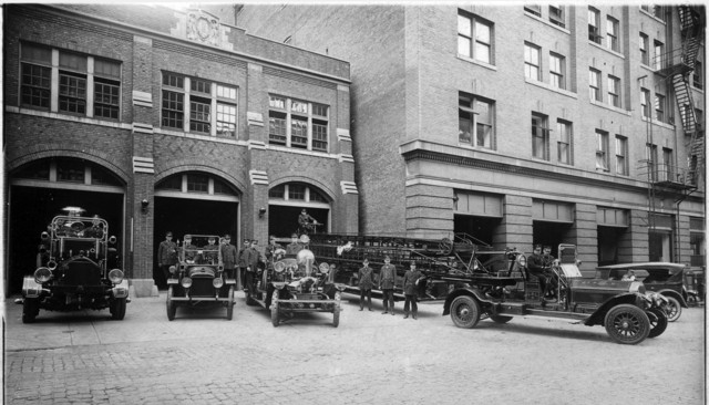 Fire Station 2 in 1925.