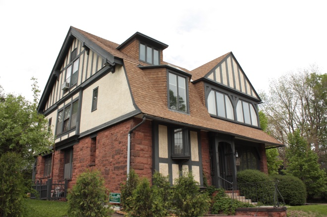 The home built by and lived in by renowned architect Cass Gilbert and his family.