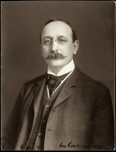 Cass Gilbert in 1910. Courtesy Minnesota Historical Society.