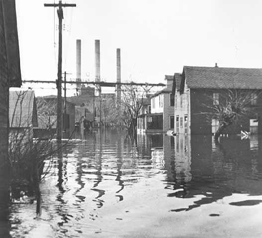The 1952 flood wreaked havoc upon the Upper Levee neighborhood in the short term and beyond.
