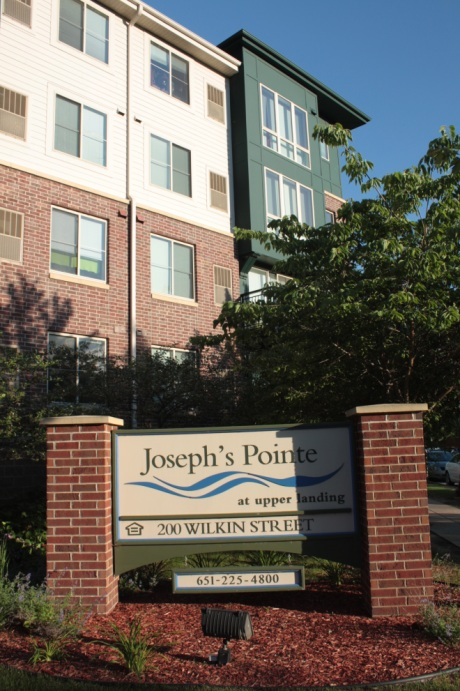 Joseph's Point apartments are also market-rate housing.