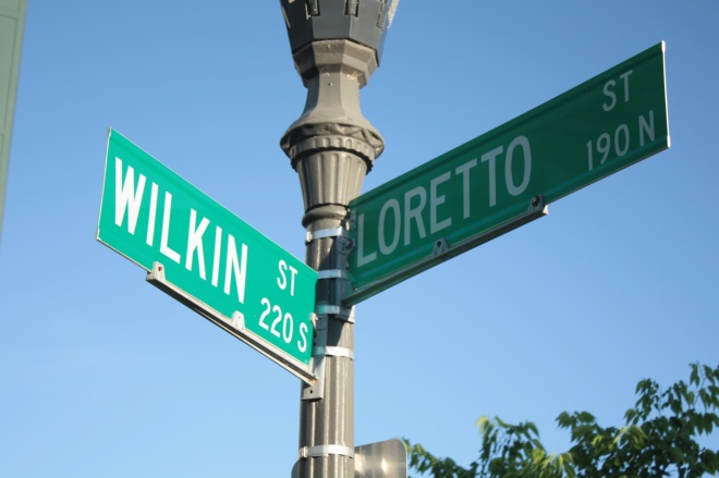 """Loretto Street is another named used on the original Upper Levee, although it was originally spelled """"Loreto."""""""