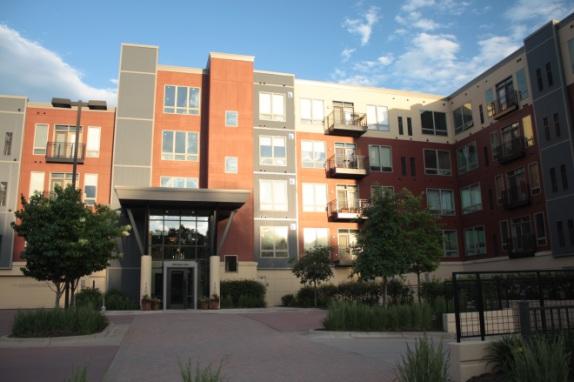 The Mississippi Flats condominiums
