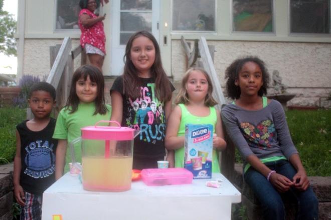 The Lemonade crew in front of 333 Goodrich.