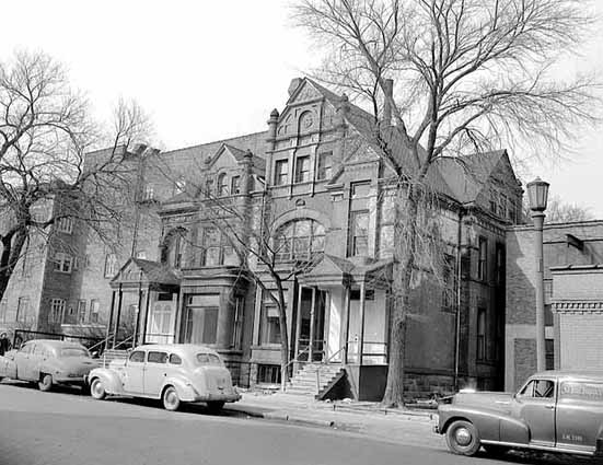 In 1949, what was then the Quinlan Nursing Home still occupied its original lot at